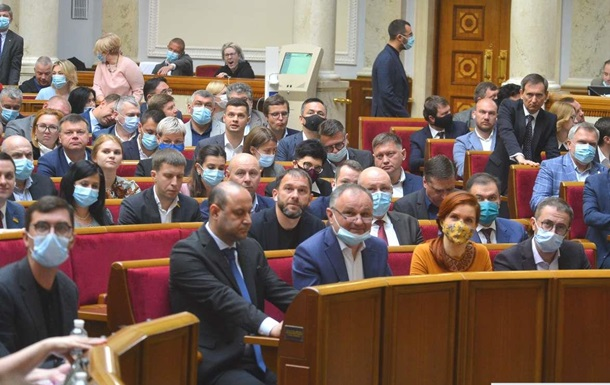 Парламент Украины осудил действия режима Лукашенко