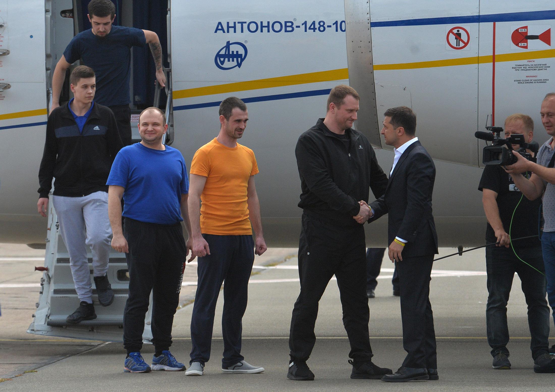 Украинско-российский синхронный обмен