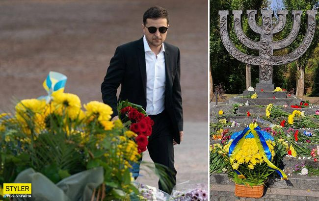 В Украине почтили память жертв Бабьего Яра