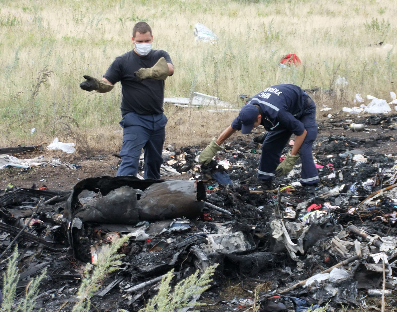 Владимир Зеленский надеется, что на скамье подсудимых окажутся все виновные в гибели самолета MH17